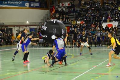 Coupe du Monde de Kin-Ball jusqu'à samedi 2 novembre aux Ponts-de-Cé
