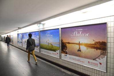La Vendée s'affiche dans le métro parisien  du 7 juin au 18 juillet