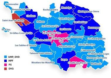 Les candidatures sont closes pour les élections cantonales des 20 et 27 mars en Vendée.