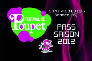 Idée KDO Noêl: les pass saison de la 26 ème édition du Festival de Poupet en vente