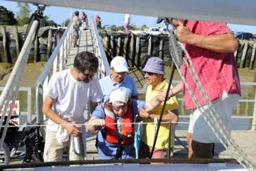 De belles sorties en mer sont organisées sur la côte vendéenne pour les personnes en situation de handicap
