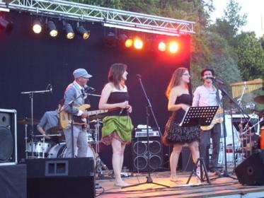 La fête de la musique en Vendée: les Herbiers