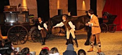 La légende du cheval Mervent au Haras de la Vendée ce mardi 31 décembre
