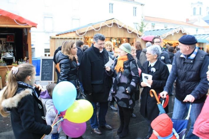 Luc Bouard et son équipe sont allés à la rencontre des habitants de la Roche sur Yon,