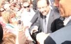 François Hollande sur le terrain de l'emploi