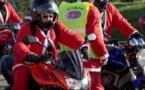 La Balade des Pères Noël à moto départ de la Roche-sur-Yon à 12h00