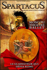 """Danse classique : """"Spartacus"""" aux Atlantes le samedi 3 mars 2012"""