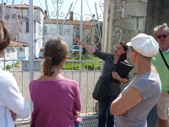 Priscilla Giboteau, guide conférencière sablaise