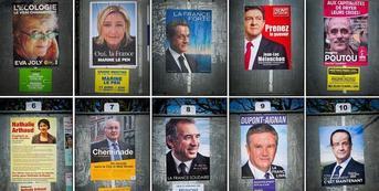 Présidentielle 2012 : les résultats définitifs du premier tour