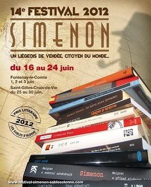 14ème Festival Georges Simenon aux Sables d'Olonne du 16 au 24 juin