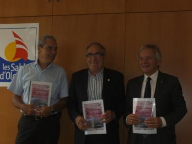 De gauche à droite : Charles-Louis Scerri, Patrick Miot et Gérard Faugeron