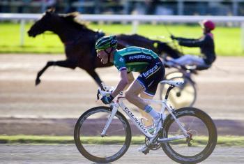 Mercredi 8 Août 2012 : Thomas Voeckler en selle ou plutôt à vélo !