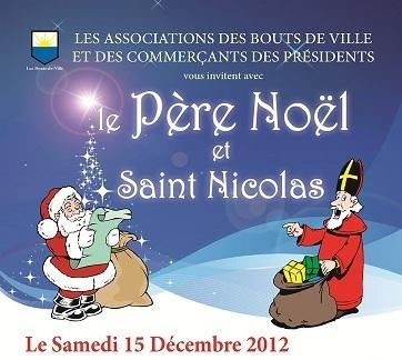 Le Père Noël et Saint-Nicolas font escales aux Sables d'Olonne