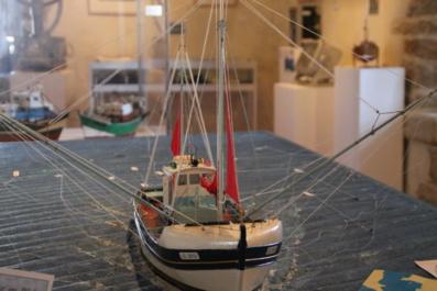"""Musée de la mer et de la pêche : """"De la voile au moteur"""""""
