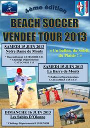C'est reparti pour le Beach soccer Tour 2013 !