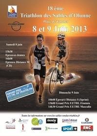 Le 18ème Triathlon International des Sables se prépare les samedi 8 et dimanche 9 juin