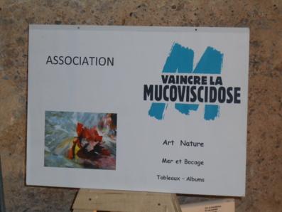 Pierre Giraud met son art au profit de l'Association Vaincre la Mucoviscidose