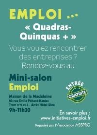 Un mini salon de l'emploi à Nantes