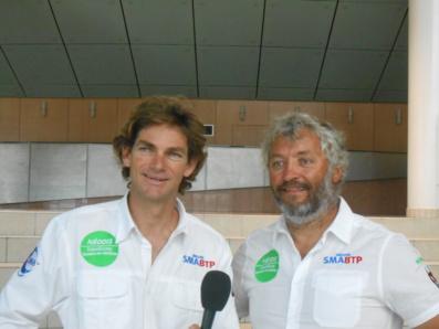 Vincent Beauvarlet et Yvan Bourgnon