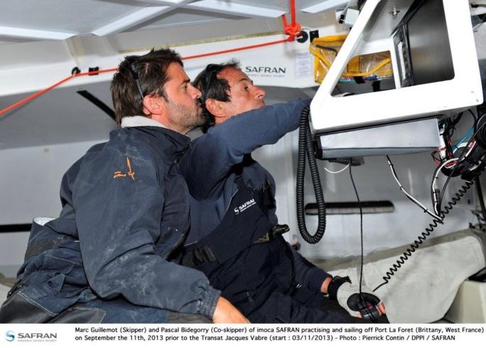 Transat Jacques Vabre : Du vent, de la mer et du sport au menu pour Safran