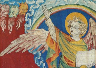 """Conférence de Claire Giraud-Labalte sur """"La tapisserie de l'Apocalypse à Angers et la Bible en images au XIVème siècle"""""""