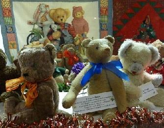 L'ours est à l'honneur pour ce marché de Noël.