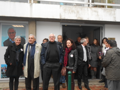 Elections municipales : Didier Gallot et son équipe inaugurent leur permanence électorale