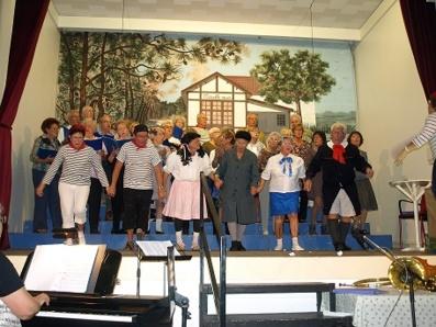 Les Veillées Chaumoises, une chorale haute en couleur