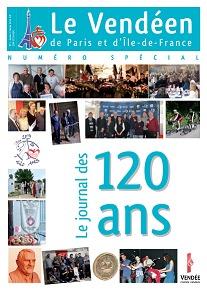 Le Journal des 120 ans des Vendéens de Paris est disponible !