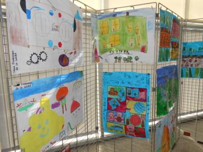 Exposition de dessins des écoles sablaises