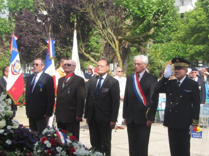 Une cérémonie ordinaire  le jeudi 18 juin jour de commémoration de l'Appel du Général de Gaulle