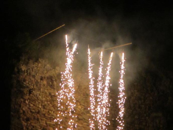 Les feux d'artifices en Vendée le 15 août
