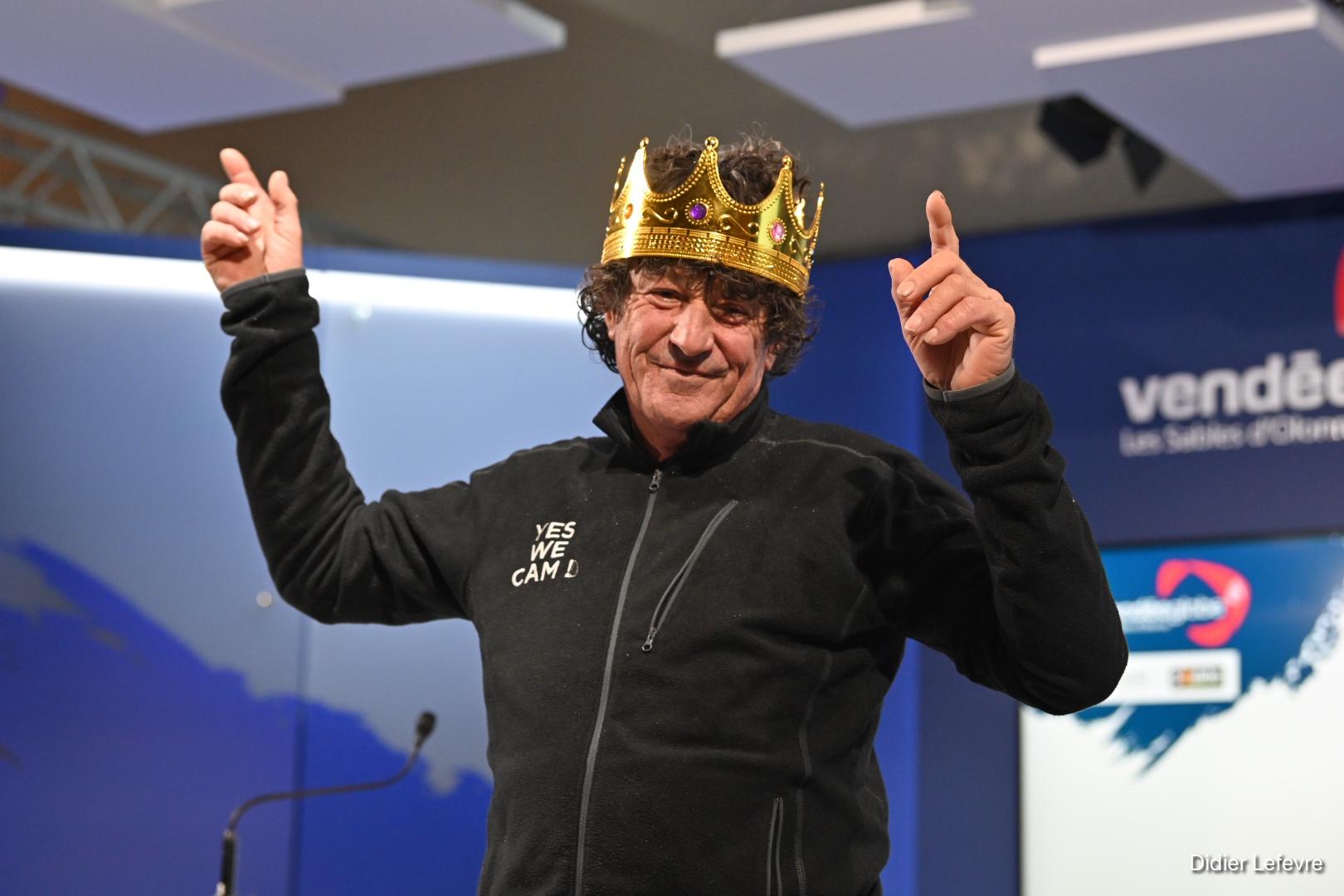Jean Le Cam (Yes We Cam !), 8e sur la ligne et 4e au classement général (avant jury)