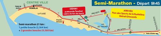 22e semi-marathon des Olonnes