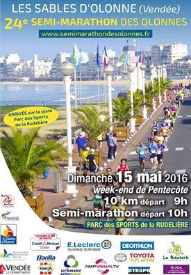 Le semi-marathon des Sables dimanche 15 mai