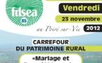"""Journée d'information au Poiré-sur-Vie : Carrefour du patrimoine rural """"Mariage et Propriété rurale"""""""
