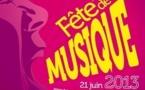 Fête de la musique aux Sables d'Olonne le vendredi 21 juin 2013