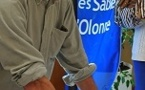 PRISE D'EMPREINTES DE CHRISTOPHE AUGUIN POUR LE WALK OF FAME DES SABLES D'OLONNE