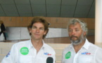 Yvan Bourgnon et Vincent Beauvarlet partiront des Sables d'Olonne pour faire le tour du monde