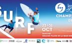 Championnats de France de Surf du 23 au 31 octobre