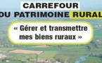 Le Poiré-sur-Vie : 2ème carrefour du patrimoine rural le vendredi 29 novembre 2013
