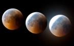 Eclipse de lune .......