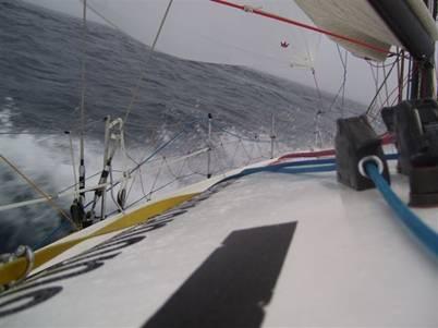 Québec Saint Malo  le 1 août  , l'équipage vendéen  pointe en ...