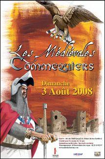 Commequiers les médiévales 2008 le dimanche 3 août