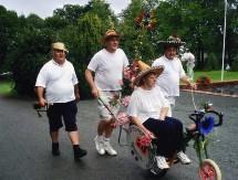Saligny organise, vendredi 15 août, sa 24e course de brouettes