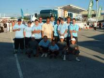 Les  champions de Vendée Minimes/Cadets/Juniors et de ligue Juniors sont allés disputer le championnat de France de pétanque  2008 à Romans sur Isère dans la Drôme les 23 et 24/08/2008.