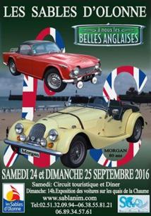Les Sables d'Olonne: rassemblement de voitures de collection et de prestige samedi 24 et dimanche 25 septembre