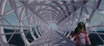 La Roche-sur-Yon n'a  plus  ses  halles de  type Baltard; la future passerelle de  la gare aura son look  Eiffel