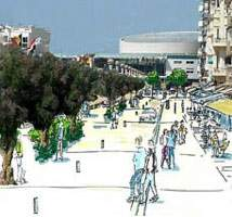 Les Sables 2010….avec un nouveau remblai et l'extension du Port de Plaisance