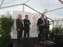 La Roche-sur-Yon  : l'inauguration du siège de Trivalis contrariée par la Feve